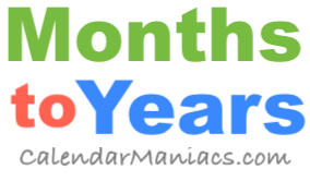 60 Months In Years A leap year has 366 days instead of the usual 365. 60 months in years